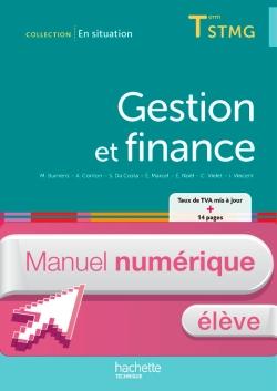 Conso Gestion finance Term STMG - En situation - Manuel numérique élève simple - Ed. 2014