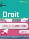 Droit BTS 1re année - Enjeux et Repères - Manuel numérique élève simple - Ed. 2014