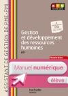 Gestion dévelop ress humaines (A3), BTS AG PME-PMI - Manuel numérique élève simple - Ed. 2014