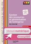 Gestion ress (A5.1-A5.2 et A6) BTS ASS PME-PMI - Manuel numérique enseignant simple- Ed. 2014