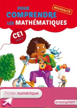 Pour comprendre les mathématiques CE1 - Fichier élève numérique version enseignant - Ed. 2014