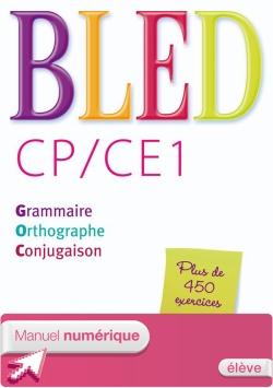 Bled CP/CE1 - Manuel numérique simple version élève - Ed. 2014