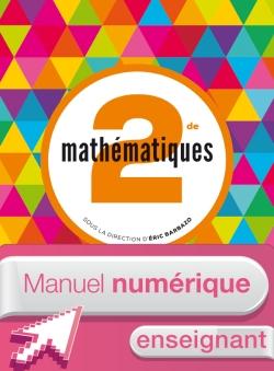 Manuel numérique Mathématiques Barbazo 2de - Licence enseignant - édition 2014