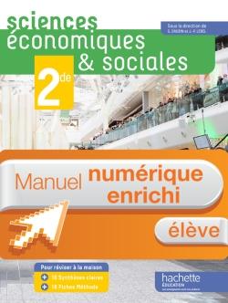Manuel numérique Sciences économiques et sociales (SES) 2de - Licence élève - Edition 2014