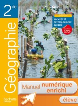 Manuel numérique Géographie 2de - Licence élève - Edition 2014