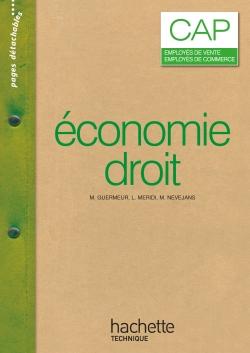 Economie Droit CAP - Livre élève - Ed.2007