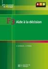 F3 Aide à la décision, BTS AM, Livre de l'élève, éd. 2008