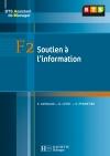 F2 Soutien à l'information, BTS AM, Livre de l'élève, éd. 2008