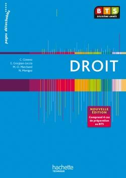 EN SITUATION DROIT BTS 2e ANNEE - Livre élève - Ed. 2013