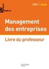 Enjeux et Repères Management BTS 1re année - Livre professeur - Ed. 2014