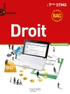 Enjeux et Repères Droit Terminale STMG - Livre élève grand format - Ed. 2013