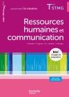 Ressources humaines et communication Terminale STMG - Livre élève consommable - Ed.2013