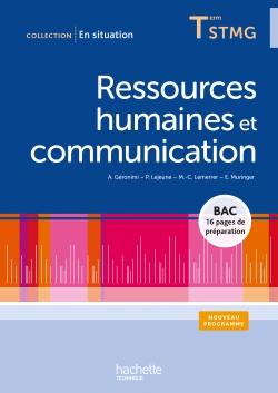 Ressources humaines et communication Terminale STMG - Livre élève - Ed.2013