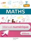 Mathématiques 3e Enseignement adapté - Manuel numérique élève simple - Ed. 2014