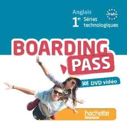 Boarding pass 1re séries technologiques - DVD Vidéo - Ed. 2015