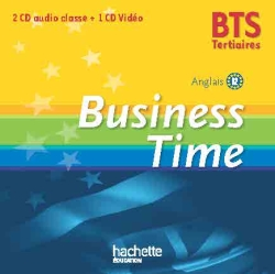 Business Time BTS tertiaire - CD-DVD - Ed. 2015