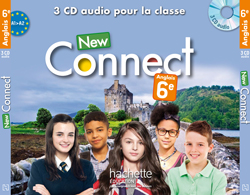 New Connect 6e - anglais - CD audio classe - Edition 2015