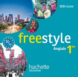 Freestyle Première - anglais - CD audio classe - Edition 2015