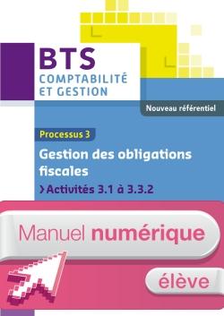 P3 Gestion des obligations fiscales BTS CG Ed 2015