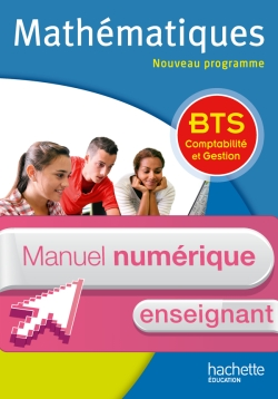 Maths BTS comptabilité gestion - Manuel numérique enseignant simple - Ed. 2015