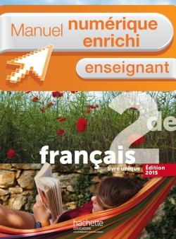 Manuel numérique L'écume des lettres 2de - Licence enseignant - Edition 2015