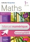 Perspectives Maths 1re Bac Pro Industriel (A et B) - Manuel numérique enseignant simple - Ed. 2015
