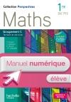 Perspectives Maths 1re Bac Pro Tertiaire (C) - Manuel numérique élève simple - Ed. 2015
