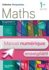 Perspectives Maths 1re Bac Pro Tertiaire (C) - Manuel numérique enseignant simple - Ed. 2015
