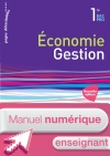 Economie-Gestion 1re Bac Pro - Manuel numérique enseignant simple - Ed. 2015