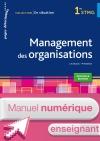 En situation Management des organisations 1re STMG - Manuel numérique enseignant simple - Ed. 2015