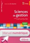 En situation Sciences de gestion 1re STMG - Manuel numérique élève simple - Ed. 2015