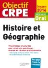 CRPE en fiches : Histoire Géographie - 2016
