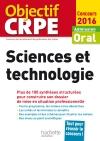CRPE en fiches : Sciences et technologie - 2016