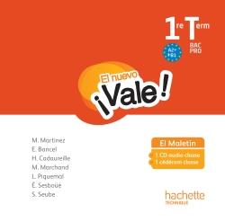 EL nuevo Vale 1re Terminale Bac Pro - CD audio Ed. 2016