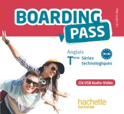 Boarding Pass Term séries technologiques - Clé USB audio/vidéo - Ed. 2016