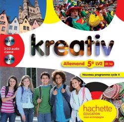 Kreativ allemand cycle 4 / 5e LV2 - éd. 2016