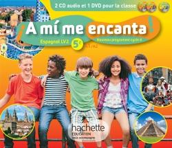 A mi me encanta espagnol cycle 4 / 5e LV2 - éd. 2016
