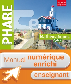 Manuel numérique Phare mathématiques cycle 4 / 5e - Licence enrichie enseignant - éd. 2016