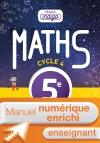 Manuel numérique Mission Indigo mathématiques cycle 4 / 5e - Licence enrichie enseignant - éd. 2016