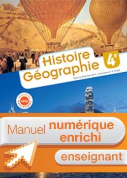 Histoire - Géographie 4e - Manuel numérique enseignant simple