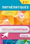 Mathématiques 3e Prépa-Pro - Manuel numérique élève simple - Ed. 2016