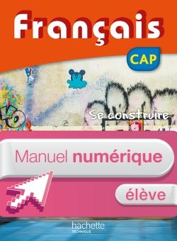FRANCAIS CAP - Manuel numérique élève simple - Ed. 2016