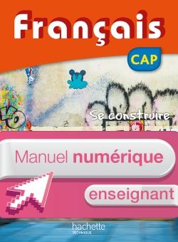 FRANCAIS CAP - Manuel numérique enseignant simple - Ed. 2016
