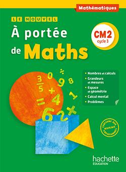Le Nouvel A portée de maths CM2 - Manuel numérique simple enseignant - Ed. 2016