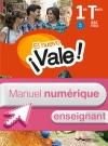 EL nuevo ¡Vale! 1re et Terminale Bac Pro - Manuel numérique enseignant simple Éd. 2016
