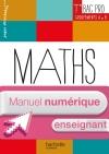 Ressources et Pratiques Maths Tle Bac Pro Indus (A et B) Manuel numérique enseignant simple Éd 2016