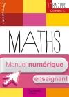 Ressources et Pratiques Maths Terminale Bac Pro Tertiaire (C) - Manuel numérique enseignant simple
