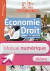 Économie - Droit 1re et Terminale Bac Pro (MRCU) - Manuel numérique élève Ed. 2016