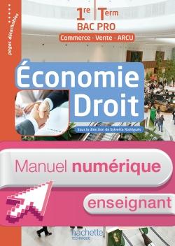 Économie - Droit 1re et Terminale Bac Pro (MRCU) - Manuel numérique enseignant simple Ed. 2016