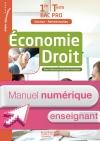 Économie - Droit 1re et Terminale Bac Pro (GA) - Manuel numérique enseignant simple Ed. 2016